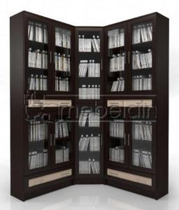 Книжный шкаф «Библиотека Мебелайн 47»
