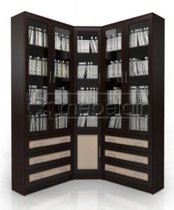 Книжный шкаф «Библиотека Мебелайн 55»