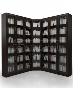 Книжный шкаф «Библиотека Мебелайн 16»