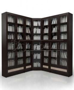 Книжный шкаф «Библиотека Мебелайн 32»