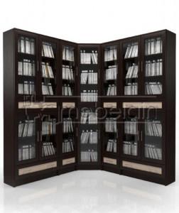 Книжный шкаф «Библиотека Мебелайн 48»