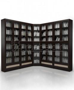 Книжный шкаф «Библиотека Мебелайн 33»