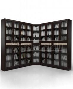 Книжный шкаф «Библиотека Мебелайн 24»