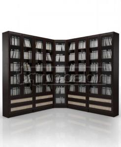 Книжный шкаф «Библиотека Мебелайн 41»