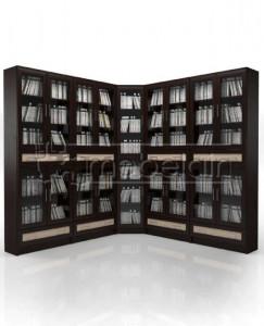 Книжный шкаф «Библиотека Мебелайн 49»
