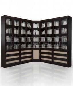 Книжный шкаф «Библиотека Мебелайн 57»