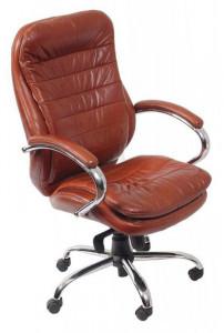 Кресло руководителя Бюрократ T-9950AXSN-искусственная кожа