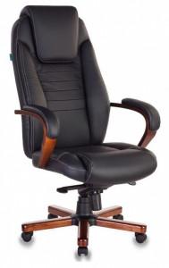 Кресло руководителя Бюрократ T-9923 WALNUT