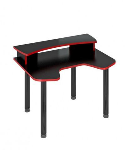 Компьютерный стол СКЛ-ИГР120МОЧ+НКИЛ120