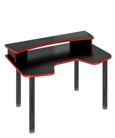 Компьютерный стол СКЛ-ИГР140МОЧ+НКИЛ140