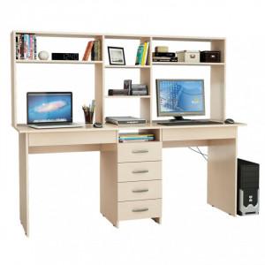 Компьютерный стол для двоих Тандем-2НЯ