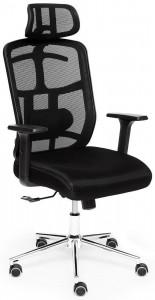 Кресло компьютерное TetChair «Mesh-6» (Чёрная ткань)