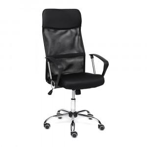 Кресло «Practic» (Черная ткань-сетка)