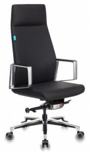 Кресло руководителя Бюрократ _JONS крестовина алюминий