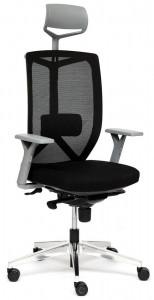 Кресло офисное «Volo grey alu» (Чёрный)