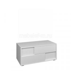 Белый комод Мебелеф-55