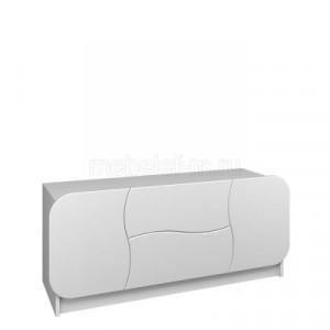 Белый комод Мебелеф-34