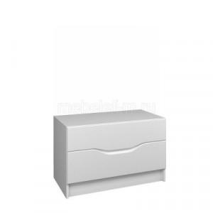 Белый комод Мебелеф-50