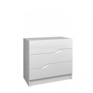 Белый комод Мебелеф-48