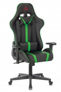 Кресло игровое Бюрократ VIKING ZOMBIE A4 GN