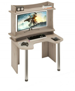 Компьютерный стол СКЛ-ИГР120+НКИЛ120ВЛ