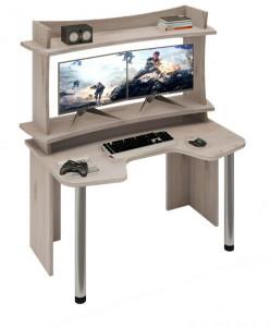Компьютерный стол СКЛ-ИГР140+НКИЛ140ВЛ