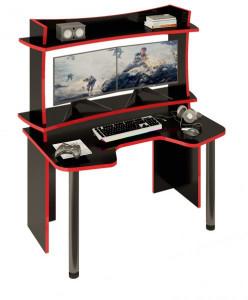 Компьютерный стол СКЛ-ИГР140Ч+НКИЛ140ВЛЧ
