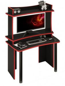 Компьютерный стол СОФТ120Ч+НКИЛ120ВЛЧ