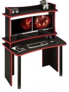 Компьютерный стол СКЛ-СОФТ140Ч+НКИЛ140ВЛЧ