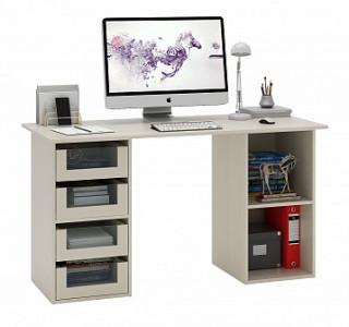 Компьютерный стол двухтумбовый Прайм-64