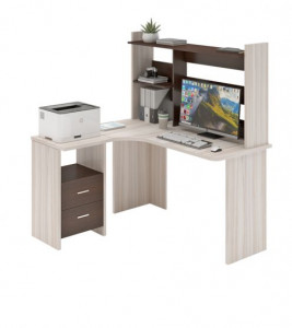 Компьютерный стол СКЛ-УГЛ130+НКЛ-130