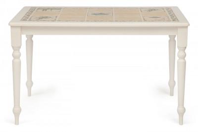 Стол с плиткой CT3349 Античный белый