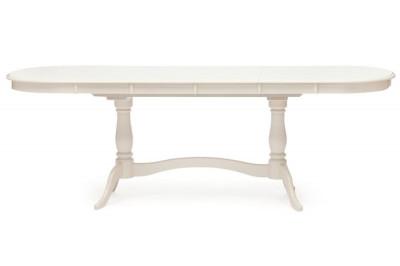 Стол белый обеденный раскладной Сиена