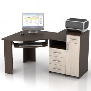 Угловой компьютерный стол КС-16У Сапсан левый